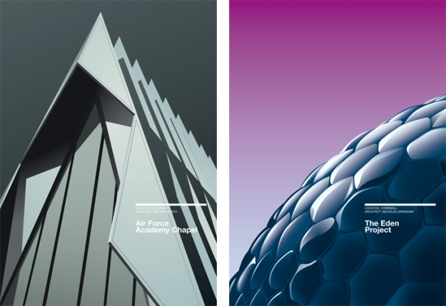 minimalist-architecture-poster-by-exergian 01
